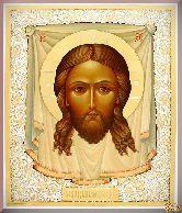 Икона Иисуса Христа Спас Нерукотворный