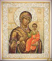 Икона Божьей Матери Одигитрия Смоленская