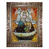 Икона Божией Матери Живоносный источник с янтаря