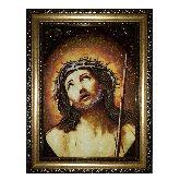 Икона c янтаря Иисуса Христа
