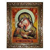 Икона из янтаря Игоревская Божья Матерь