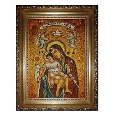 Икона из янтаря Милостивая