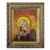 Икона из янтаря Симеона Богоприемца