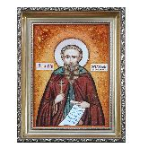 Икона из янтаря Святой Максим Исповедник