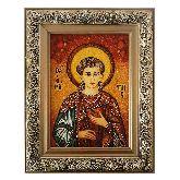Икона из янтаря Святой Орест