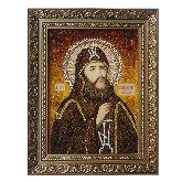 Икона из янтаря Вениамин Печерский