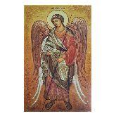 Икона с янтаря Архангел Гавриил