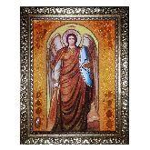 Икона с янтаря Архистратиг Михаил