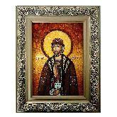 Икона с янтаря Олег Брянский Святой