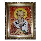 Икона Святой Тимофей Ефесский из янтаря