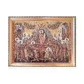 Икона Успение Пресвятой Богородицы из янтаря