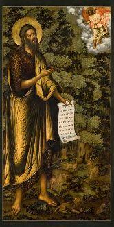 Купить икону Иоанн Предтеча ПР-03-8 12х6