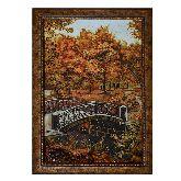 Янтарная картина Євгения Лушпина «Осенний пейзаж»