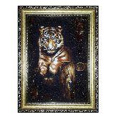 Янтарная картина Гордый Тигр