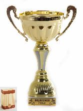Кубок Чаша с рельефными ручками Бизнесмен года 22см