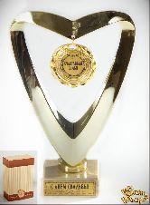 Кубок подарочный Сердце Счастливая семья!