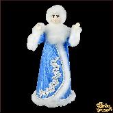 Фарфоровая кукла малая Снегурочка.