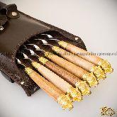 Шашлычный набор «Стрелецкий» на 6 шампуров