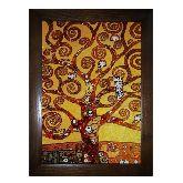 Картина из янтаря «Дерево жизни» Густав Климт