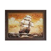 Картина Корабль из янтаря