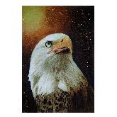 Картина Орел из янтаря