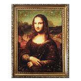 Картина с янтаря «Мона Лиза»