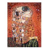 Картина с янтаря Густав Климт 2