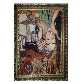 Картина с янтаря Густав Климт 3