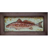 Картина с янтаря Рыбка