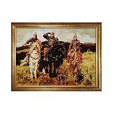 Картина Васнецова богатыри из янтаря