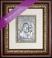 Икона Богородица Казанская, рамка художественный багет, 100х150
