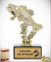 Кубок подарочный Рыбка золотая На исполнение заветного желания!
