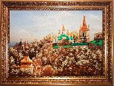 Киево-Печерская Лавра - пейзаж из янтаря