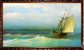 Корабль в открытом море