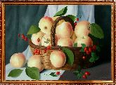 Корзина персиков