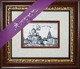 Суздаль. Кремль, рамка художественный багет, 365х315