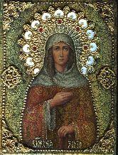 Икона, Ксения Петербургская