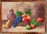 Кувшин и фрукты