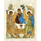 Купить икону Троица арт Т 01 12*9,5