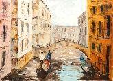"""Картина на холсте """"Прогулка по Венеции"""""""