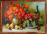 Маки и фрукты