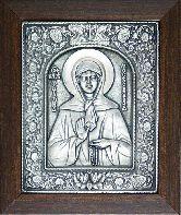 Икона Матронушка, рамка классическая, 80х105
