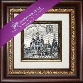 Муром. Свято-Троицкий монастырь, рамка художественный багет, 365х315