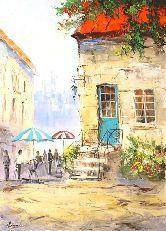 """Картина на холсте """"Летний Париж"""""""
