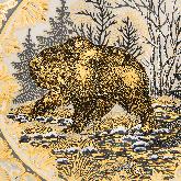 """Набор охотиника """"Медвежий оскал"""""""