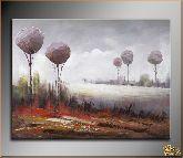 Туманная дымка, картина, Модерн пейзаж №1