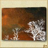Грозовые облака, картина, Модерн пейзаж №3
