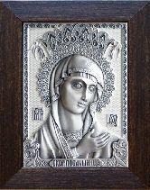 Икона Невская Скоропослушница, рамка классическая, 85х105