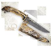 """Нож украшенный """"Ягуар"""""""