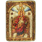 Образ Божией Матери Державная, Аналойная икона, 21Х29